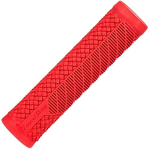 Lizard Skins Charger EVO - Puños para Bicicleta (Talla única), Color Rojo