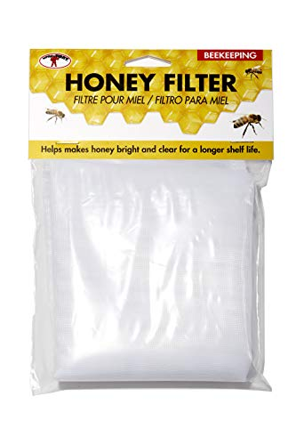 Little Giant Fabric Honey Filter Honey Filtration Strainer for Beekeeping (Item No. HSTRAINF)