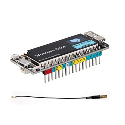 DollaTek ESP32 Stick inalámbrico Lora + WiFi + BLE Módulo de Desarrollo SX1276 para Arduino 433MHz - 470MHz