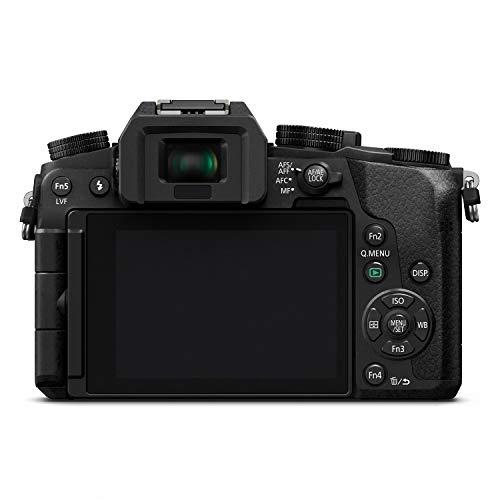 41WXxrJhW1L - PANASONIC Lumix G7 4K Digital Mirrorless Camera Bundle with Lumix G Vario 14-42mm and 45-150mm Lenses, 16MP, 3-Inch Touch LCD, DMC-G7WK (USA Black)