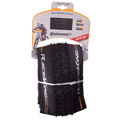 Odoukey Vélo Pliant pneus de Rechange Continental Route VTT VTT Protection des pneus (de 27.5x2.2cm)