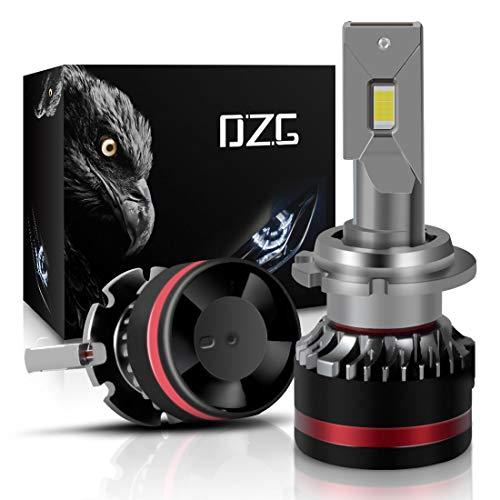 DZG D2S D2R D4S D4R LED Headlight Bulbs 40W 10000 Lumens 6000K Bright White Conversion Kit, Pack of 2