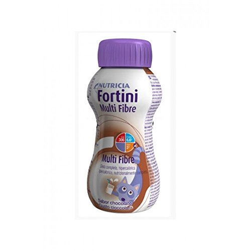 Nutricia Italia 58582 Fortini Multi Fibre, Cioccolatto, Integratore Ipercalorico