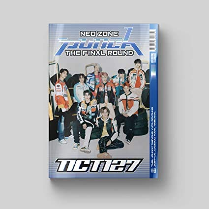 NCT 127 [NEO ZONE : THE FINAL ROUND] 2nd Repackage Album 1ST VER CD+Libro de...