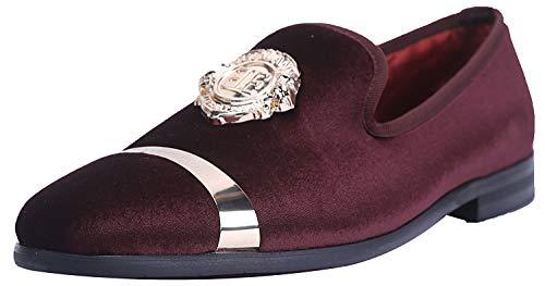 Top 10 best selling list for wine color shoes men