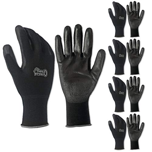Grease Monkey Gorilla Grip 5 Pack Gorilla Grip Handschuhe (Extra groß)