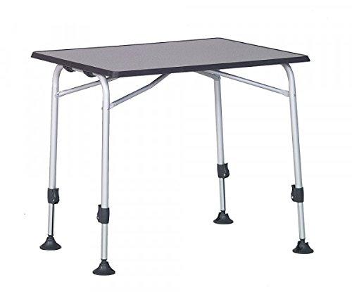 STABIELO-table de camping en aLUMINIUM-vollkunststoffplatte-dimensions : 60 x 80 x 6,3 cm - 25 mm-cadre en aLUMINIUM-gris-vente-holly ® produits sTABIELO-innovation fabriqué en allemagne-holly-sunshade ® -