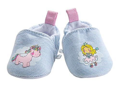 Heless 9441 - Schuhe für Puppen, Einhorn Emil und Fee Emma, Größe 30 - 34 cm