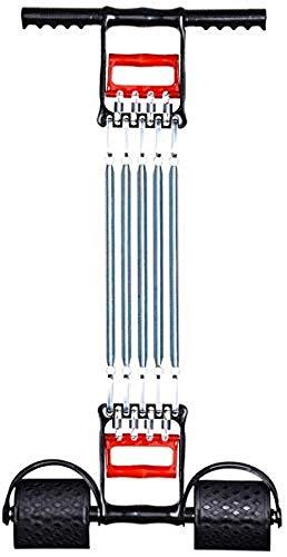 Expansor de Pecho Agarre Manual con Tensor de Resorte 5 Entrenador de tensión Muscular de Resorte Entrenador Multifuncional Tensión Ajustable