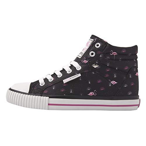 British Knights DEE Damen HIGH-TOP-Schuh Sneaker