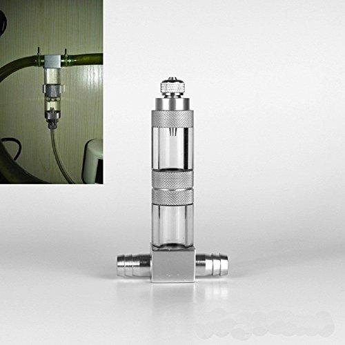 Difusor de CO2 atomizador externo acuario de comprobación de la válvula...