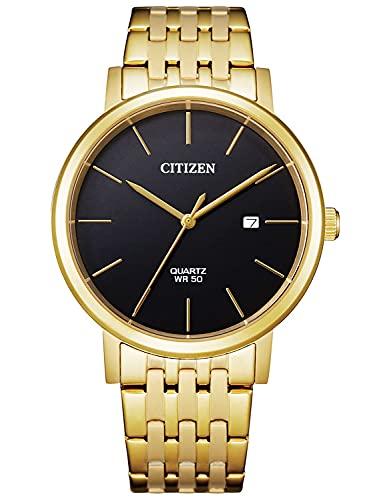 Citizen Mens Analog Quartz Uhr mit Edelstahl Armband BI5072-51E