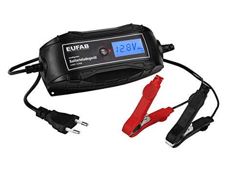EUFAB 16615 Batterieladegerät 6/12V 4A
