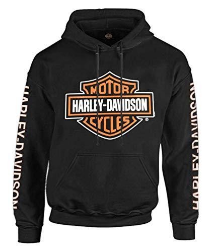 Harley-Davidson Herren Bar & Shield Logo Pullover Hoodie - Schwarz 30297503, schwarz, X-Large