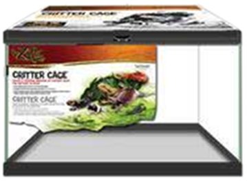 Zilla 28010 10-Gallon Critter Cage, 20-Inch by 10-Inch by 12-Inch