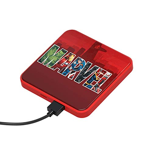 Power Bank 4000 mAh Marvel Logo - Tragbares Universalladegerät original Marvel, Tribe PBL21600
