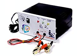 Soni Enterprise PJP 12v 7 AMP Battery Charger with 7AH to 220AH Charging Capacity for AMF Panel, Tubular, Inverter, Bike, Truck, Ups, Car and 12Volt Chargers,Soni Enterprise