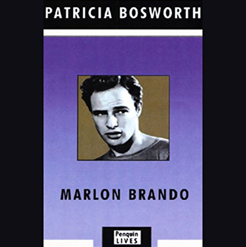 Marlon Brando audiobook cover art