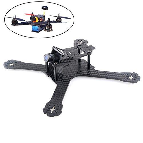 X210 (4MM) Carbon Fiber FPV Race Quadcopter Frame Like QAV-X210 QAV-X250 (X210 Frame) by Crazepony (Carbon Fiber X210)