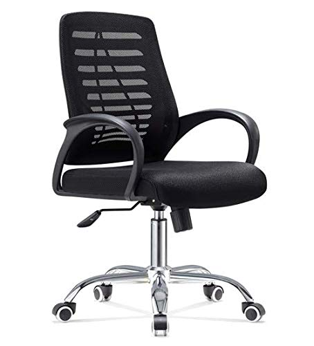 IVOL bureaustoel Bari – in hoogte verstelbaar, comfortabel stoffen net bekleding in modern design