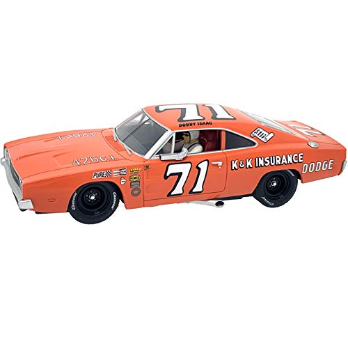 Carrera 30942 Dodge Charger 500 No. 71 1:32 Scale Digital Slot Car Racing Vehicle for Carrera Digital Slot Car Race Tracks