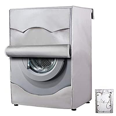 Washer/Dryer Cover for Front-Loading Machine Waterproof dustproof Thin (W27 D33 H39 in,Thin)