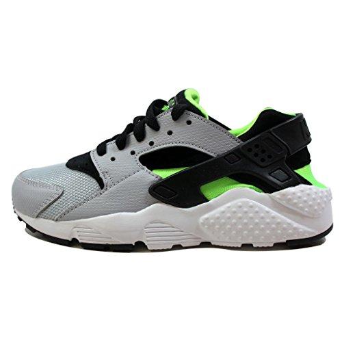 Nike, Scarpe da Corsa Uomo, Grigio Nero Verde Bianco Gris Wolf Grey Blk Elctrc Grn White, 38 EU