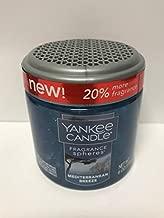 Yankee Candle Mediterranean Breeze Fragrance Spheres Odor Neutralizing Beads, Fresh Scent,Blue