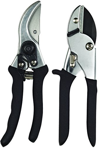 Best Deals! Toolbasix Pruner 2Pc Set 1Bypass/1Anvil GP1002+GP1013A