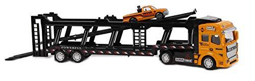 Van Manen 2-Play Traffic Auto Transporter Die Cast...