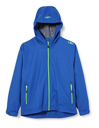 CMP Jungen Windproof and Waterproof rain Jacket WP 10.000 Regenjacke, Royal, 164