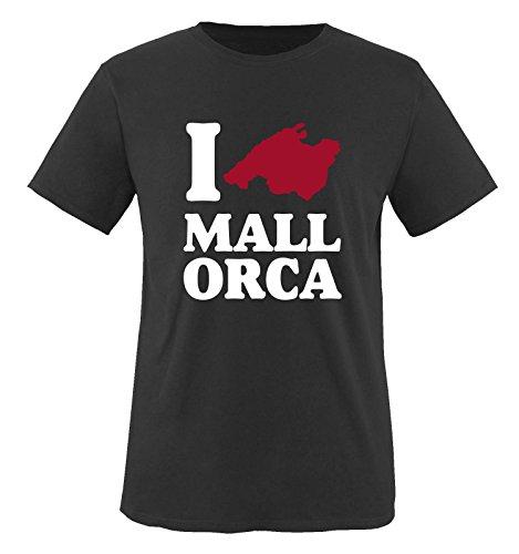 I Love Majorque... T-shirt Taille S à XXL Small Noir