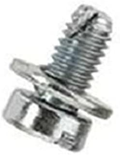 50 M6-1.0 x 12mm Slotted Cheese Head SEMS Screws VW