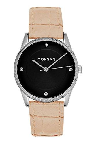MORGAN Reloj Fecha Standard para Mujer de Cuarzo con Correa en PU MG 005-AE