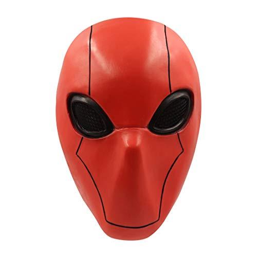 Cafele Red Hood Mask Full Head Latex Helmet Game Cosplay Helmet Props