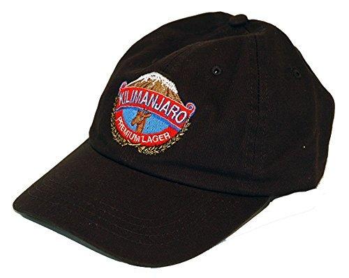 Black Kilimanjaro Baseball Cap by The Africa House