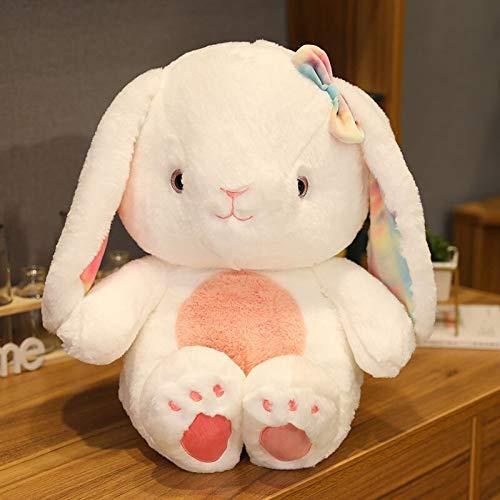 N / A Conejo de Peluche de Juguete Suave Conejito Animal Juguetes de Peluche Kawaii niña muñecas de Peluche Lindo Conejito Anime Plushie Rosa Blanco muñeco de Peluche 40cm