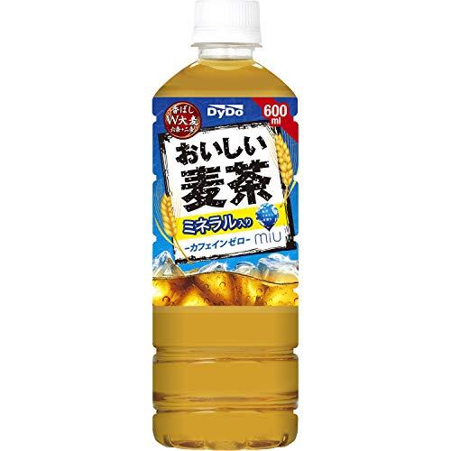 ダイドードリンコ おいしい麦茶 600ml×24本