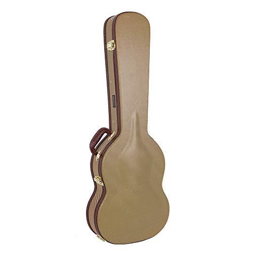 Crossrock CRW600SGTW Hartschalenkoffer für SG E-Gitarre, Vintage Tweed