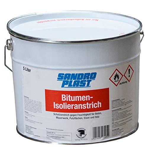 SANDROPLAST Bitumen Isolieranstrich 5 Liter