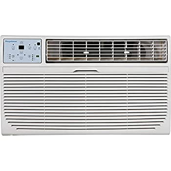 Keystone 8,000 BTU 115V Through-The-Wall Air Conditioner | Energy Star | Follow Me LCD Remote Control | Dehumidifier | Sleep Mode | 24H Timer | AC for Rooms up to 350 Sq Ft | KSTAT08-1C