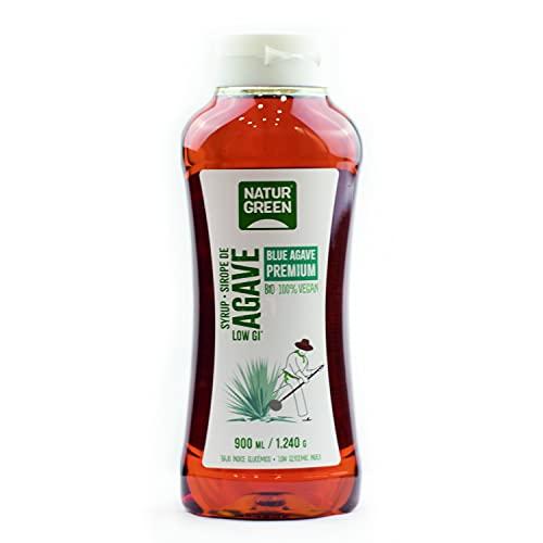 NaturGreen - Sirope de Agave Bio, 900 ml