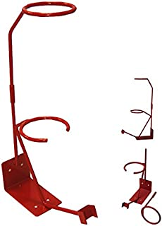 TCP Global Gravity Feed Paint Spray Gun Holder Stand with Strainer Holder, Wall or Bench Mount, HVLP