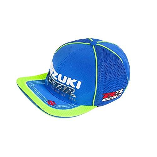 Gorra oficial Team Suzuki Ecstar visera plana