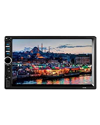 Fit for Lettore multimediale per Auto Universale 2 DIN Autoradio 2Din Stereo 7'Touch Screen Video MP5 Auto Radio Backup Camera 7018B(Color:No Camera)