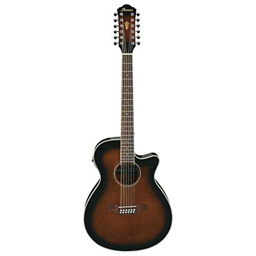 Ibanez AEG1812II-DVS - Dark Violin Sunburst