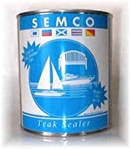 FurnitureSet Classic Brown Tone Finish Semco Teak Wood Waterproofing Sealant Sealer 1 Gallon Sealant Protector #FSAXSMB