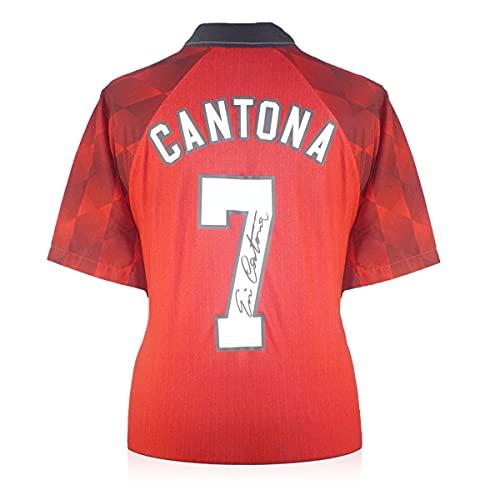 Exclusive Memorabilia Manchester United Trikot von Eric Cantona signiert. 1998