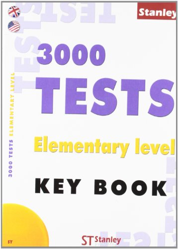 3000 Tests Elementary level - Key book Ingles