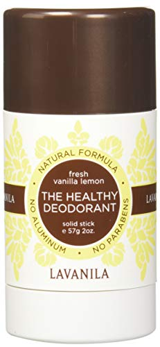 Lavanila The Healthy Deodorant, Fresh Vanilla Lemon, 2 Fluid Ounce by Lavanila